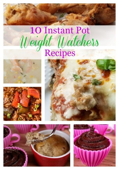 10 Weight Watchers Instant Pot Recipes