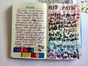 "Illustrated Faith ""Less Hustle More Jesus"" devotional kit"