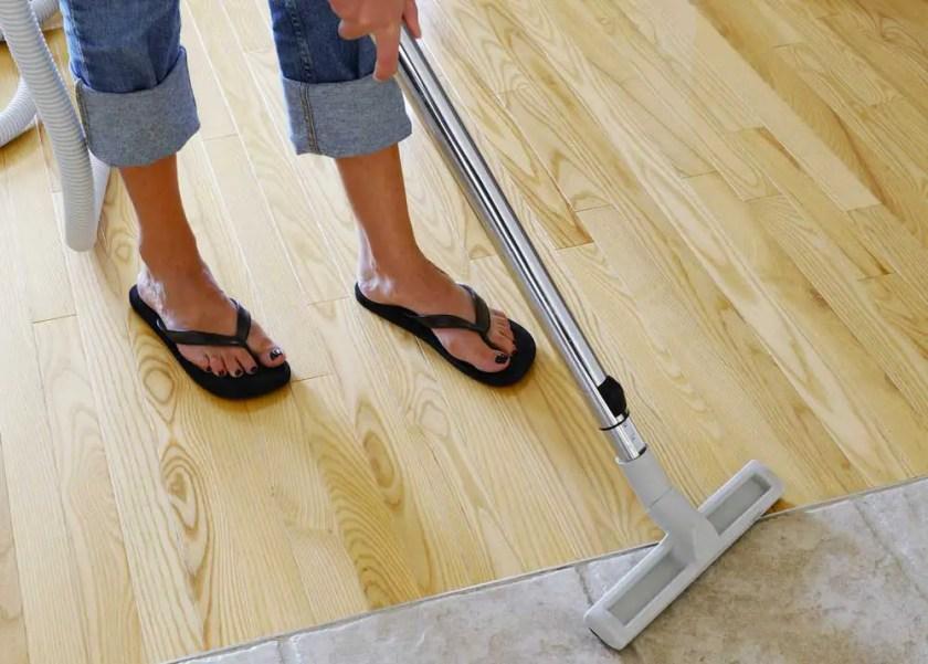 Get Wax Off Hardwood Floors