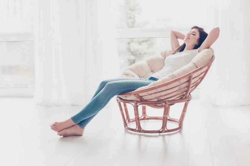 How to sleep on chair