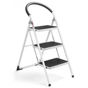 Delxo 3 Step Folding Ladder - Best safety step ladders for seniors