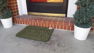 GrassWorx Clean Machine Daisy Doormat