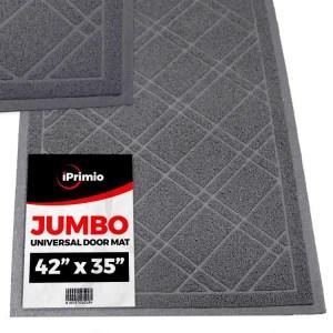 SlipToGrip Universal Gray Door Mat