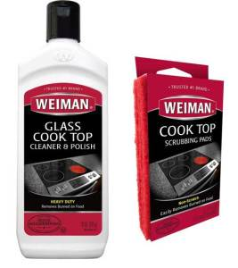 Weiman Heavy Duty Glass & Ceramic Stove Top Cleaner