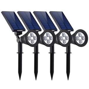 victsing solar lights for Garden solar spot lights