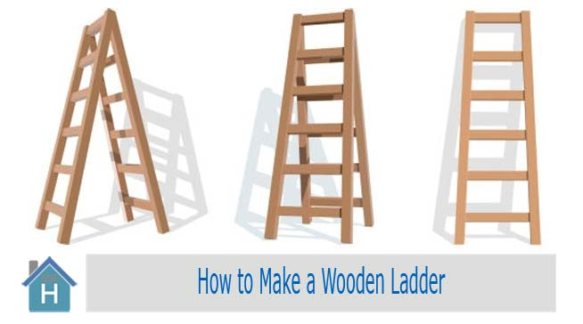 How to Build a Wooden Ladder