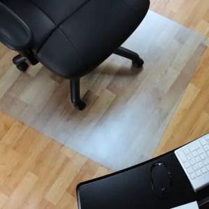 Marvelux Vinyl Office Chair Mat for Hardwood Floors