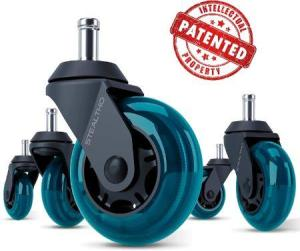 Best Office chair caster wheels for carpet