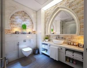 a bathroom interior with Best bathroom vanity