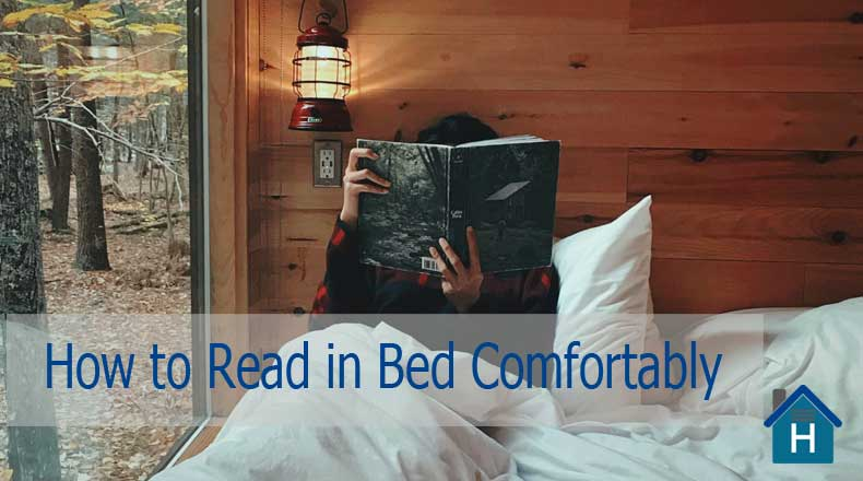 How to Read in Bed Comfortably