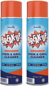Diversey Break-Up - Professional Oven & Grill Cleaner for Baked on Grease