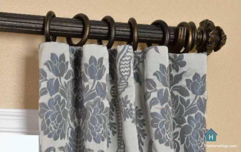 How To Hang Pocket Rod Curtains With A, How To Hang Curtains On Hooks And Rings