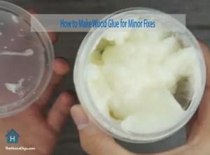 How to Make Wood Glue