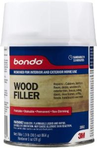 Bondo Home Solutions Stainable Wood Filler (Best For Multi-Purpose)