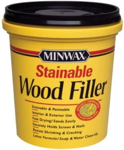 Minwax 42853000 Stainable Wood Filler (Best Rated Stainable Wood Filler)