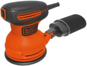 BLACK+DECKER Random Orbit Sander with Dust Collection System, Corded-Electric