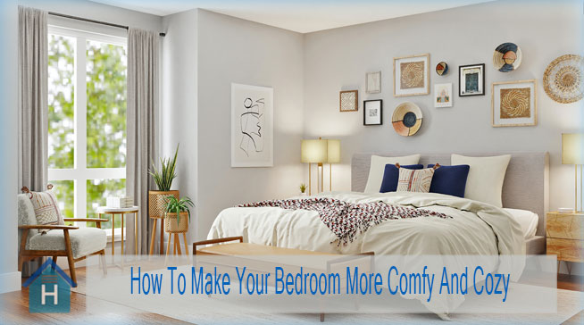 How To Make Your Bedroom More Comfy And Cozy 1