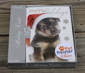 Holiday Cards from December Pet Treater Box - The Homespun Chics