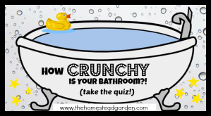 """How """"Crunchy"""" is your Bathroom? Take the Quiz!"""