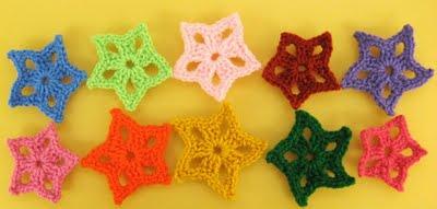 Star Ornament, from ellenbloom.blogspot.com