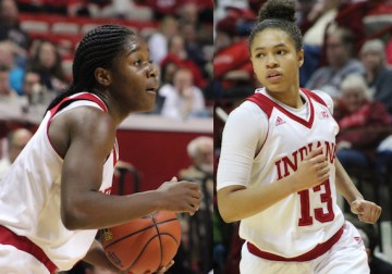 IU Women's Basketball Freshman Duo Bursting On the Scene