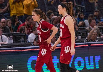'Really proud of our group:' IUWBB remains optimistic after loss to Iowa