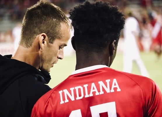 'I thought we were the better team tonight': Indiana gives Notre Dame everything it can handle in 1-1 draw