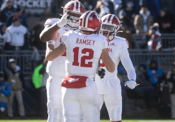 Mistakes too much for resurgent IU football to overcome against Big Ten elite, again