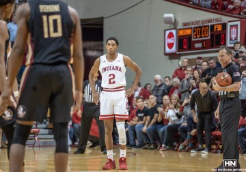 Indiana outlasts Connecticut in ugly fashion