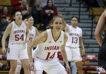 IUWBB grinds out road win behind clutch play from Patberg