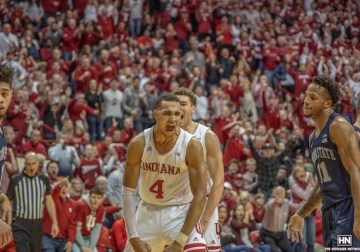 'We weren't shook': Indiana shows grit, growth in win over No. 9 Penn State
