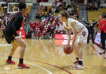Berger a bright spot, but slow start dooms Hoosiers against No. 12 Maryland
