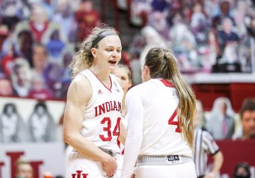 'We've never had that quit in us': Hoosiers take control late behind Nicole Cardano-Hillary's double-double to fell Buckeyes