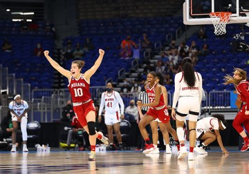 'This means the world to me': Indiana advances to first-ever Elite Eight with thrilling win over top-seeded NC State