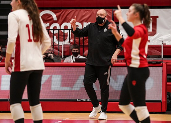 Indiana volleyball ready to host first home tournament of the season