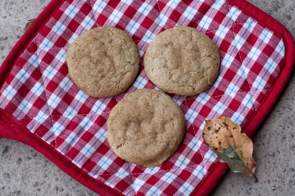Chai Spiced Snickerdoodle Cookies