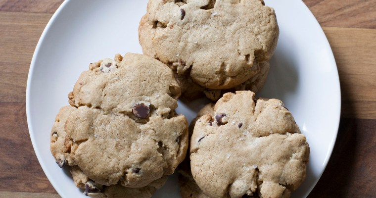 Bourbon and Rye Chocolate Chip Cookies