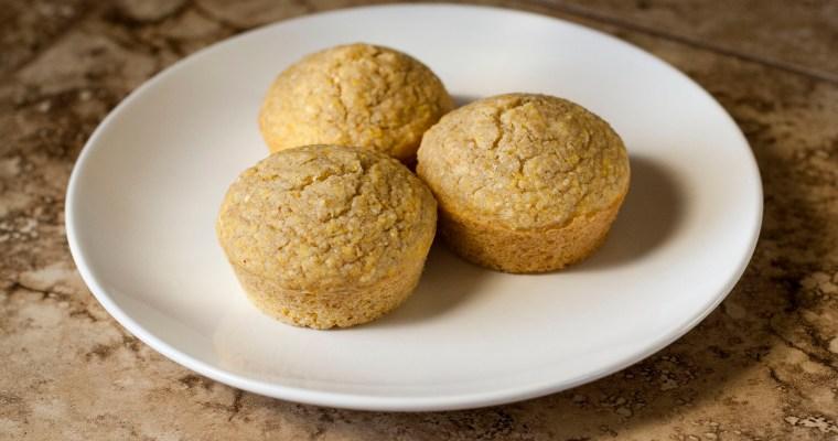 Simple Cornbread Muffins