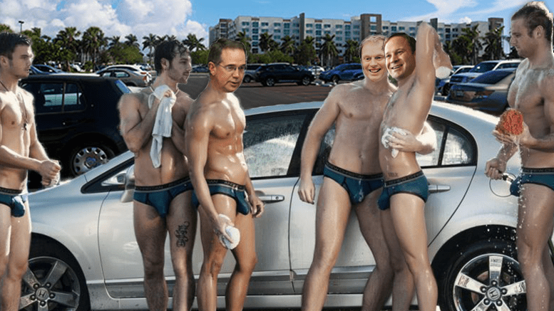 Fau Administration To Run Sexy Car Wash Amid Budget Cuts The Hoot