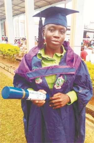 Combining sewing, catering with academic  did not affect my study – First Class NCE graduate