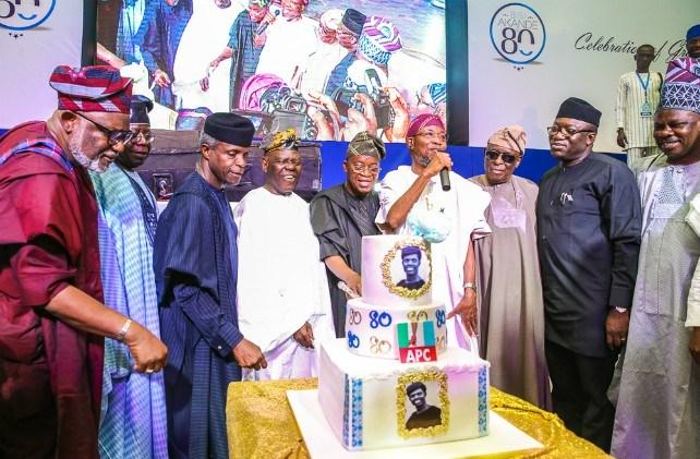 Osinbajo, Akeredolu, others honour Akande @ 80