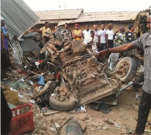 Nursing mother, Corps Member, 13others die, 4 injured in Ekiti road accident, EKSGcondoles with victims' families