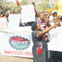 Minimum wage: NLC confident in Akeredolu as labour stages nationwide protest