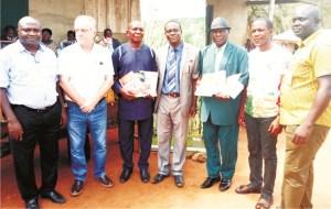 RENL distributes textbooks to 2,500 pupils
