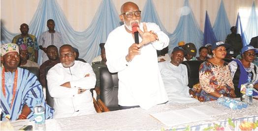 Owo in high spirit over Akeredolu's visit