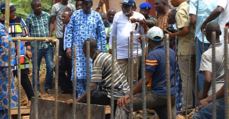 Akure-Ikere dual carriage way underway