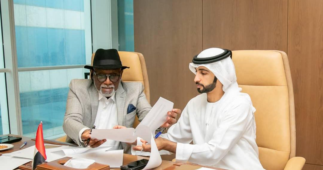 Akeredolu signs MoU with UAE firm on Sea Port, infrastructure