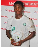 Ajax step up chase for Golden Eaglets Amoo