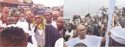 New dawn in Owo as Oba Ajibade Ogunoye mounts the throne