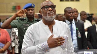 Security votes meant for citizens' protection – Akeredolu